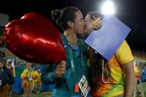 Además, hubo globos con corazones Foto:Getty Images. Imagen Por: