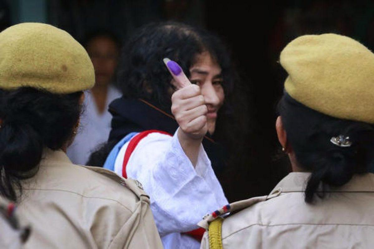 Además, los tribunales resolvieron que su huelga era una manifestación pacífica Foto:AP. Imagen Por: