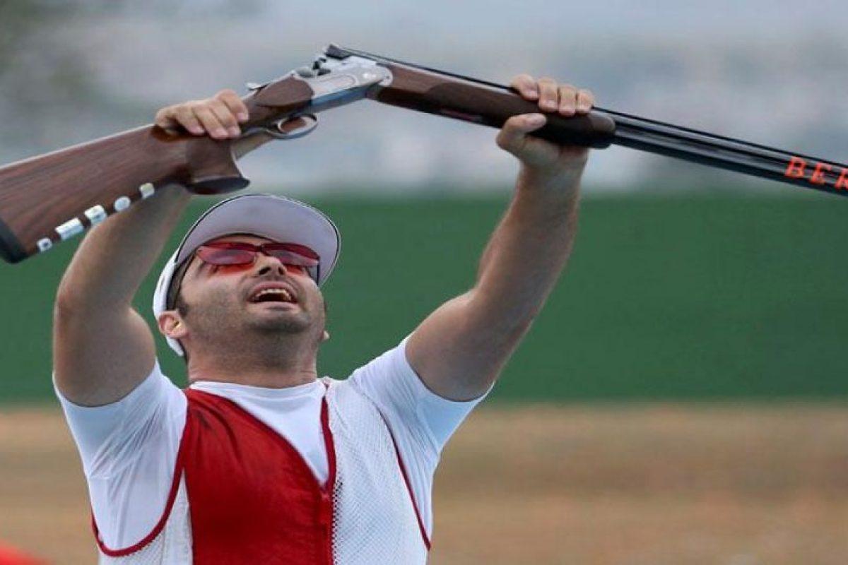 Josep Glasnovic le dio oro a Croacia en el tiro deportivo en la especialidad de fosa masculina. Foto:Getty Images. Imagen Por: