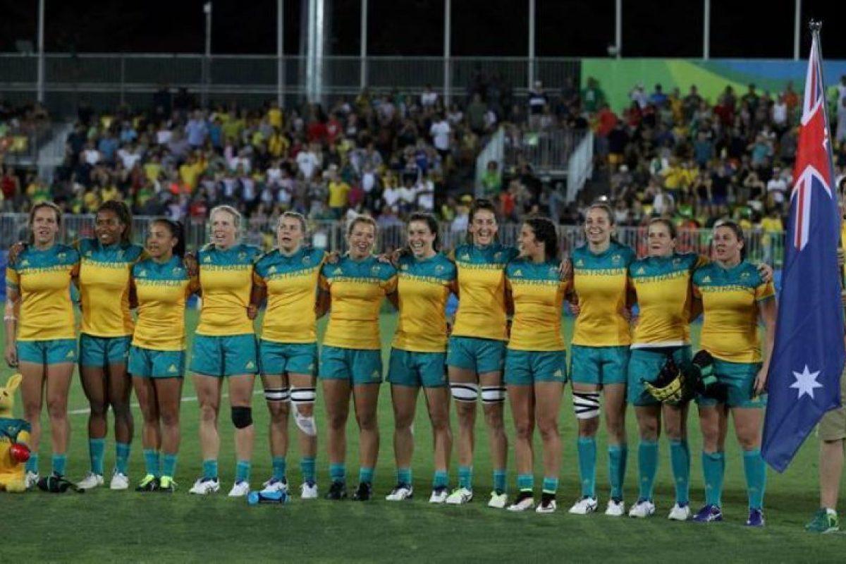El equipo de rugby siete femenino se hizo con la medalla de oro al vencer 24-17 a Nueva Zelanda, en la final Foto:Getty Images. Imagen Por: