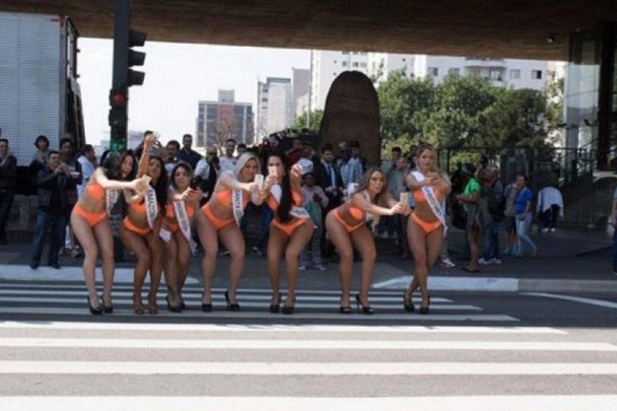 Las mujeres más exuberantes de Brasil salieron a cazar pokémon Foto:Globo.com. Imagen Por: