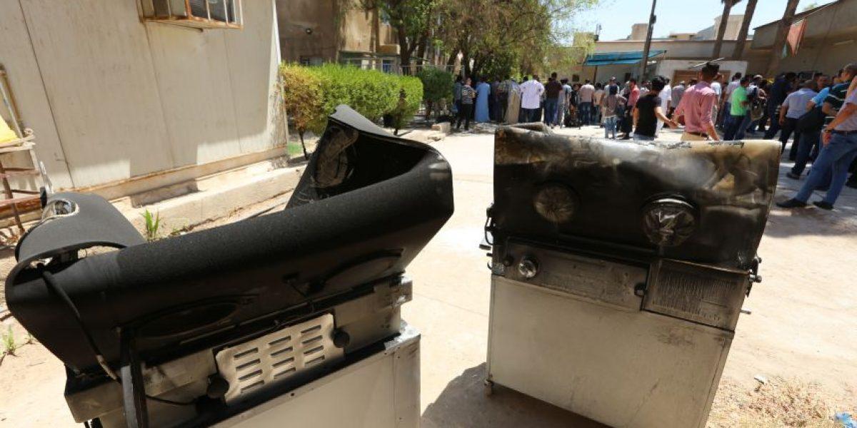 Once recién nacidos mueren en un incendio en un hospital de Bagdad