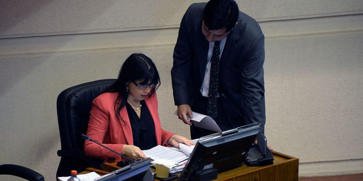 Ministra Blanco y pensiones en Gendarmería: