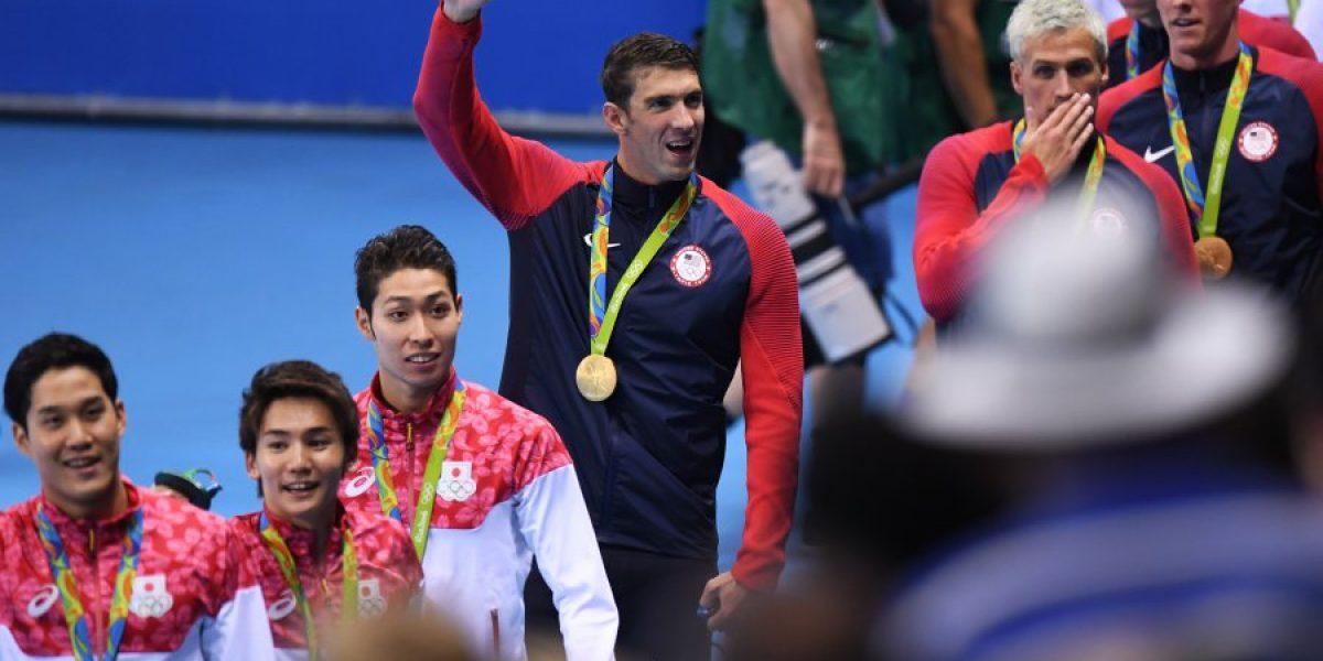 Río 2016: Michael Phelps tiene más medallas que 113 países