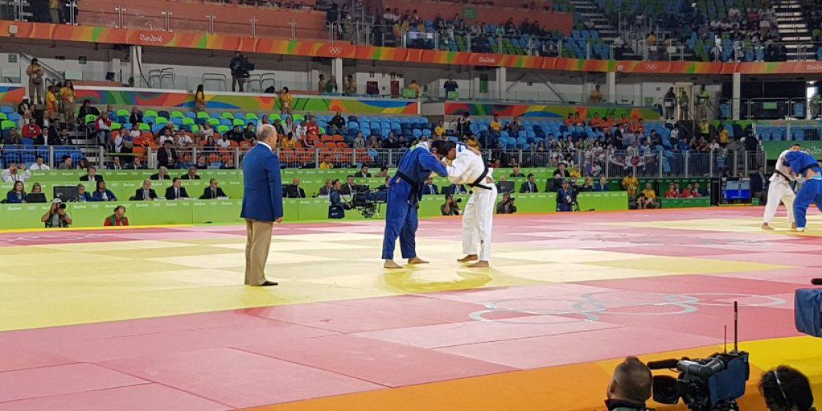 Thomas Briceño hizo historia al ganar el primer combate de un chileno en judo olímpico