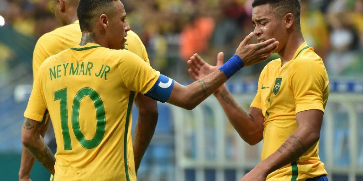 Brasil dejó atrás sus fantasmas y con una goleada avanzó a cuartos en el fútbol olímpico
