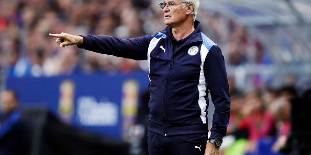 Dirigencia del Leicester logró renovar por cuatro temporadas con el técnico Claudio Ranieri