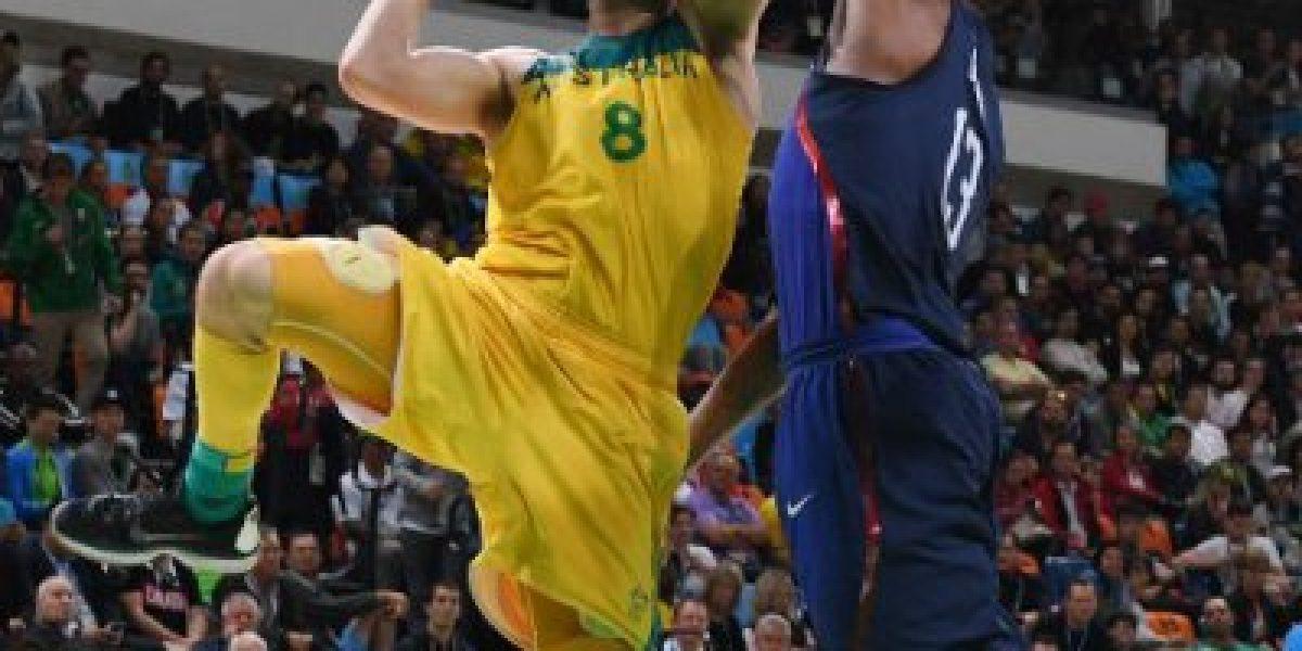 El Dream Team le ganó a Australia gracias al poderío de Carmelo Anthony