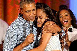 Malia Obama es la hija mayor de Barack Obama Foto: Getty Images. Imagen Por: