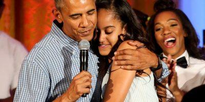 Medio asegura que captó a hija de Barack Obama