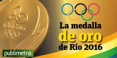 Infografía: la medalla de oro de Río 2016