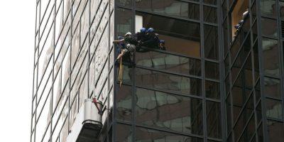 Policía detuvo a escalador que ascendía la torre de Donald Trump