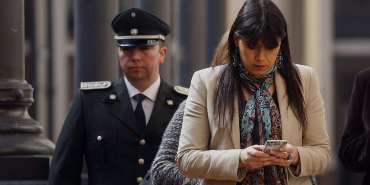 Blanco confirma solicitud de Ossandón para reincorporar a concejal RN en Gendarmería
