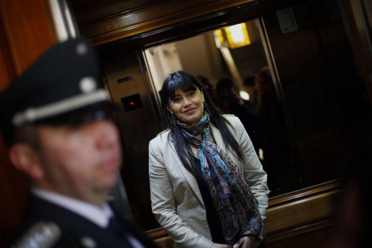 Ministra de Justicia se refiere a reincorporación de concejal RN a Gendarmería Foto:Agencia Uno. Imagen Por:
