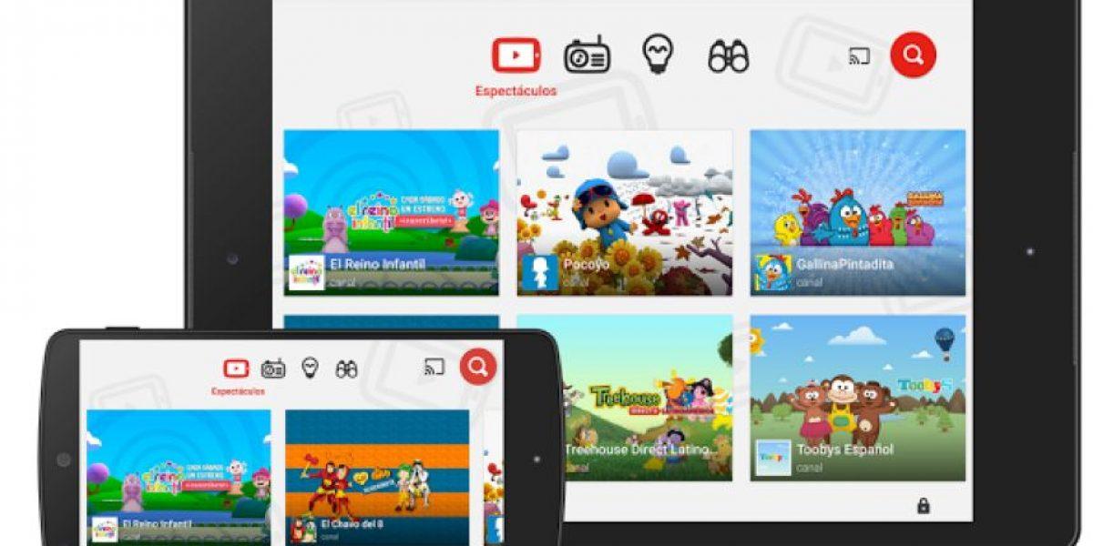 YouTube Kids llega a Chile con contenido para los más pequeños