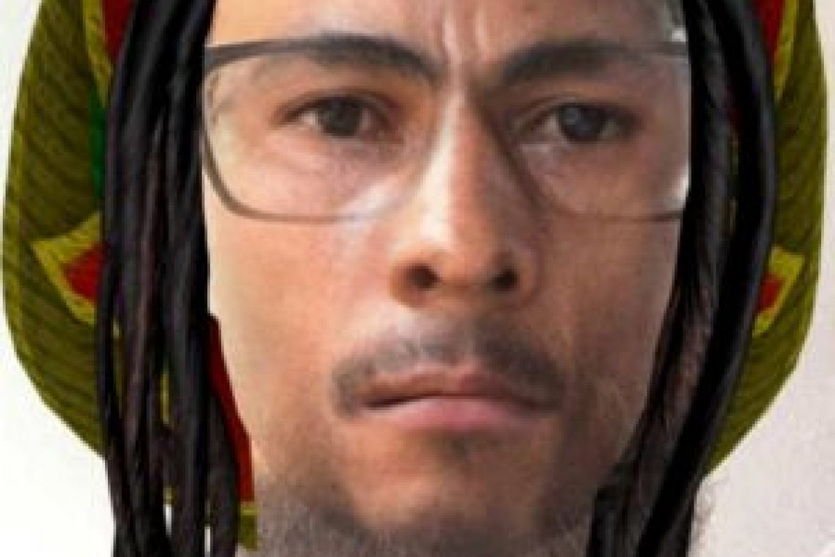 Este es el filtro de Bob Marley. Foto:Twitter/Jon Brady. Imagen Por: