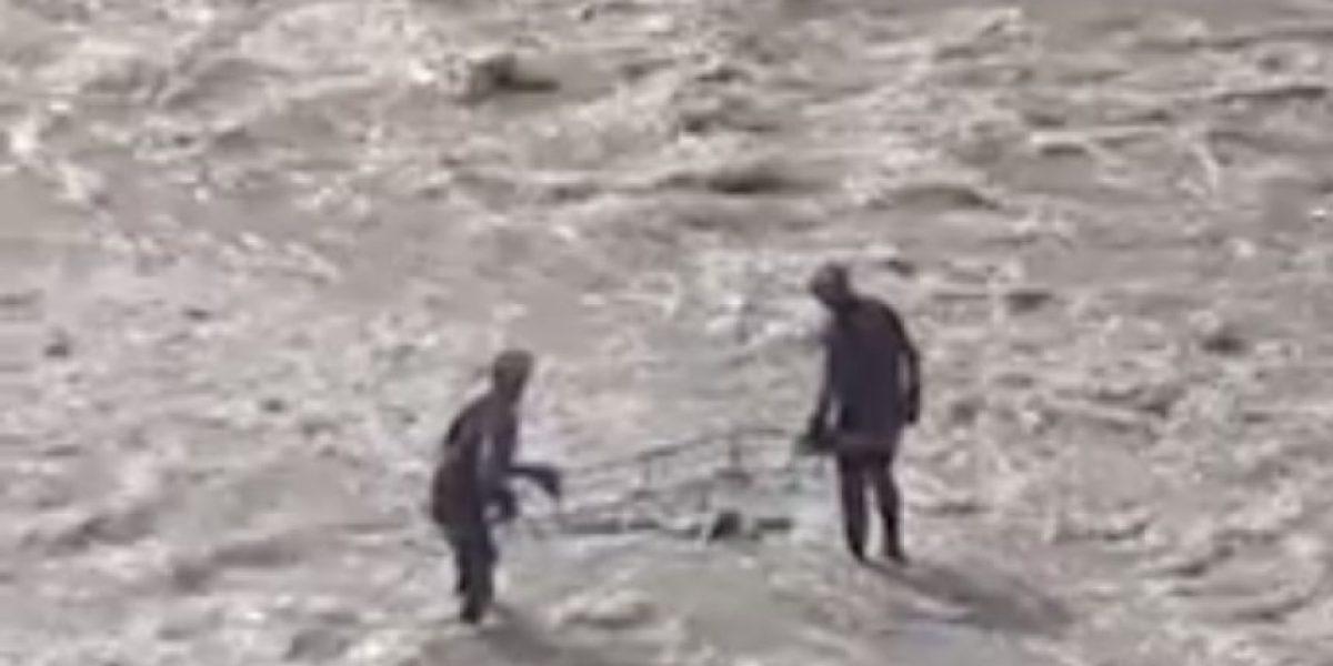 Primos chilenos encontraron un cadáver en el río Mapocho mientras jugaba Pokémon Go