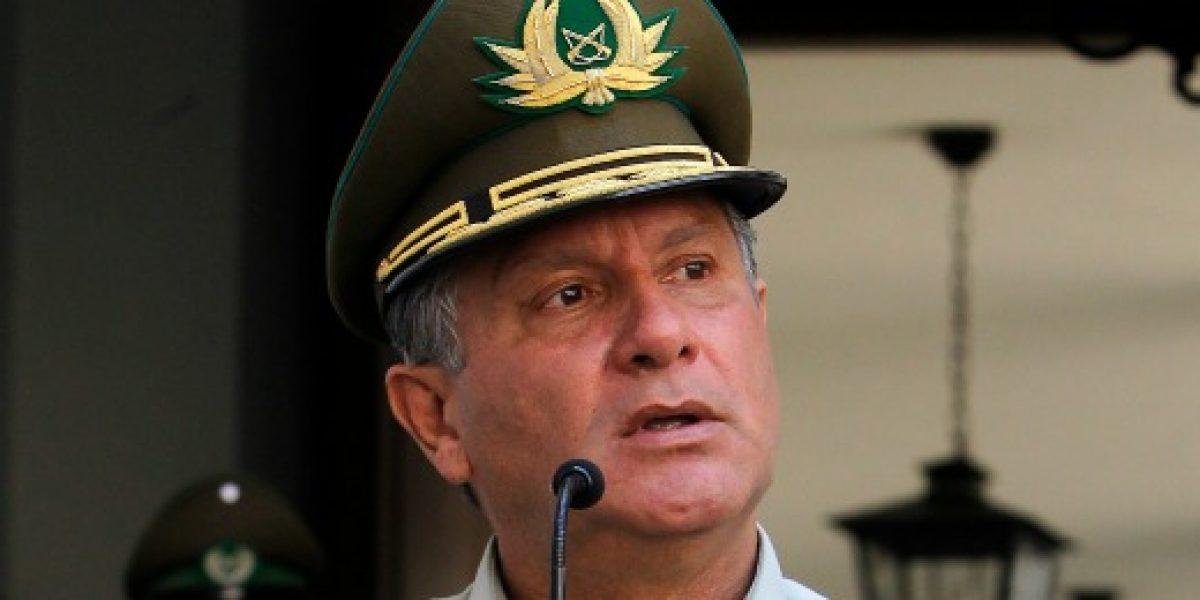 Director de Carabineros asegura que no ha buscado contradecir propuesta de la Presidenta