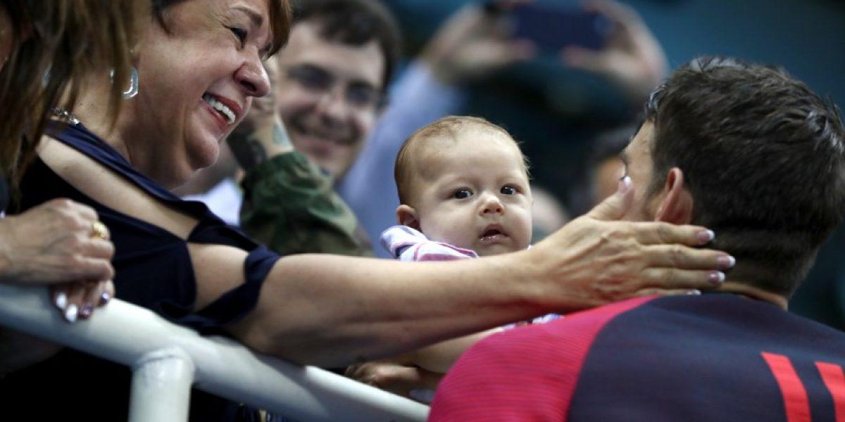 Río 2016: El pequeño hijo de Michael Phelps que roba protagonismo a su padre