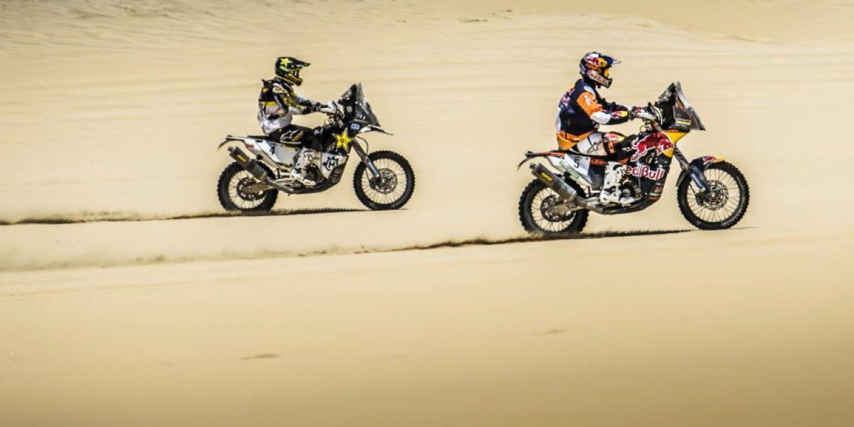 Pablo Quintanilla e Ignacio Cornejo quieren ser campeones en el Atacama Rally