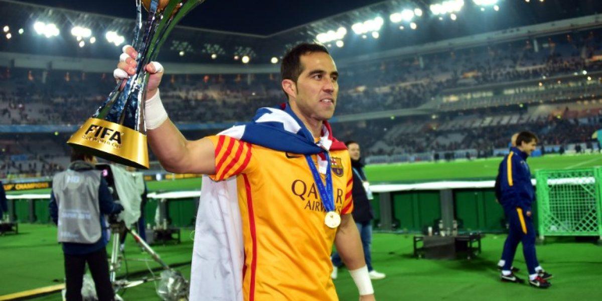 Claudio Bravo tendrá la gran oportunidad de consolidarse como titular en el Barça