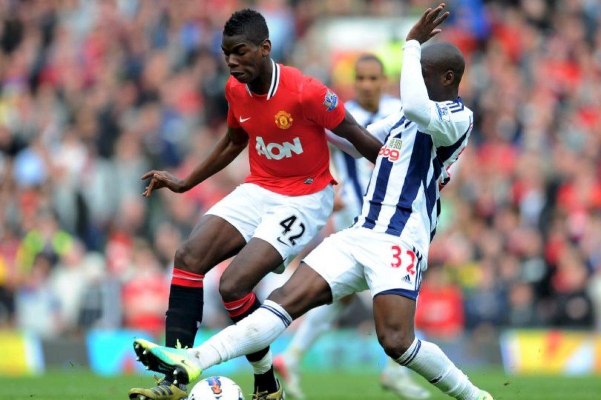 Paul Pogba debutó como profesional en Manchester United en 2011, cuando jugó 44 minutos ante Leeds United por la League Cup. Foto:Twitter. Imagen Por: