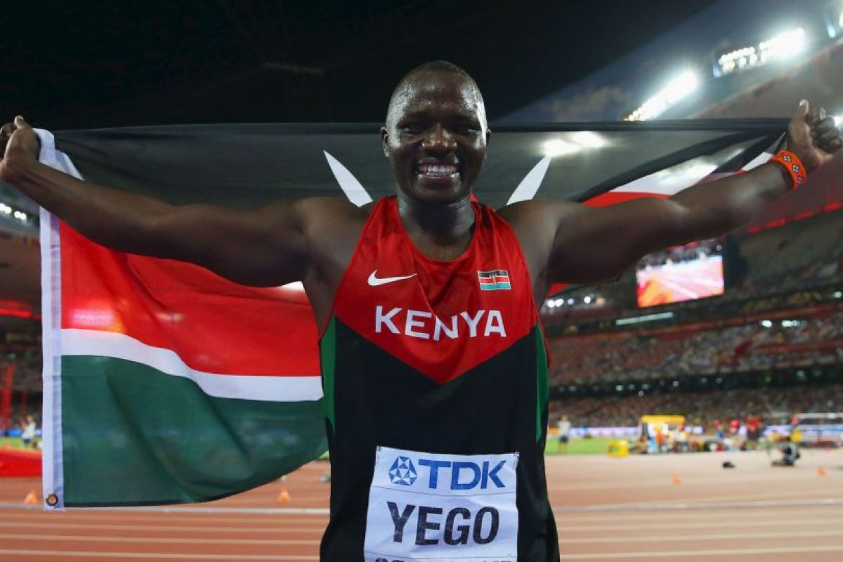 Julius Yego, el atleta que entrenaba con videos de Youtube Foto: Getty Images. Imagen Por: