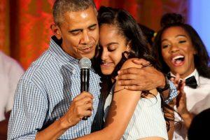 Malia Obama es la hija mayor de Barack Obama Foto:Getty Images. Imagen Por: