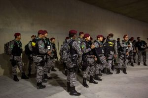 Una semana antes de los juegos, el gobierno de Rio de Janeiro despidió a la empresa privada que habían contratado para ofrecer seguridad Foto:Getty Images. Imagen Por:
