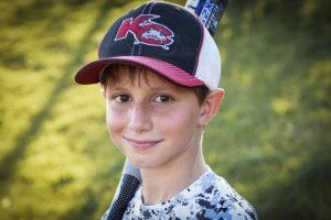 Caleb Schwab solo tenía 10 años Foto:AP. Imagen Por: