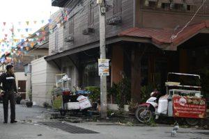 """La Policía tailandesa consideró los ataques con bomba como """"sabotaje local"""" y descartó terrorismo. Foto:Afp. Imagen Por:"""