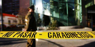 Con oxicorte desconocidos roban cajero automático en Cerro Navia