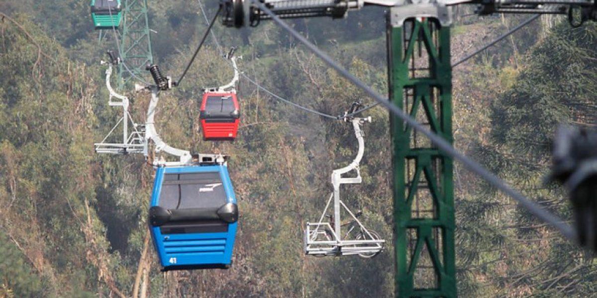 Serviu Metropolitano adjudica concesión del nuevo teleférico a Turistik