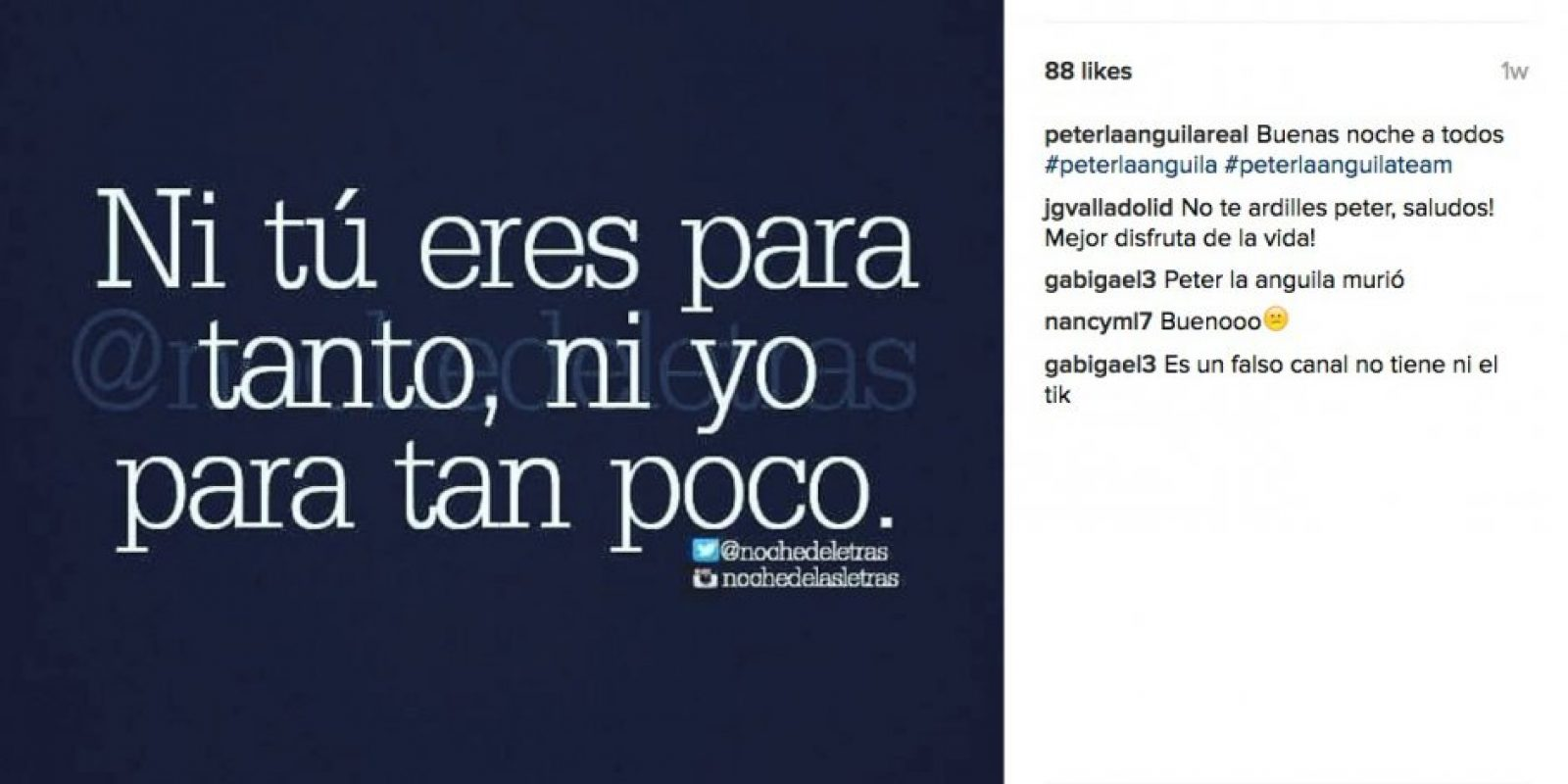 . Imagen Por: Instagram