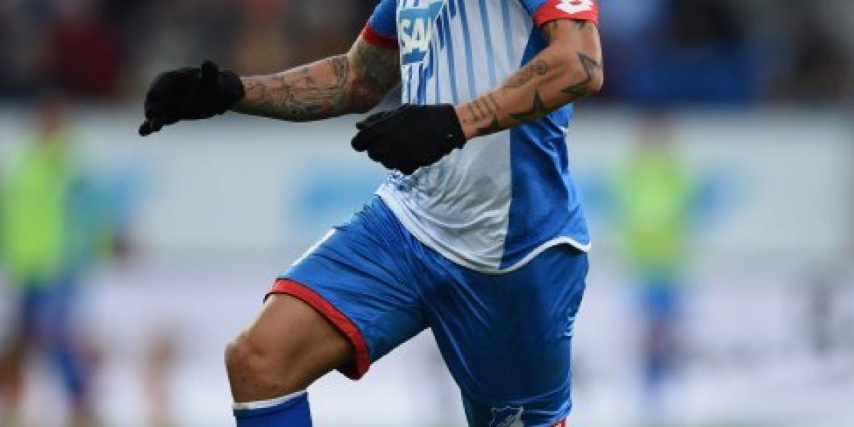 Eduardo Vargas agarra rodaje en Alemania en amistoso del Hoffenheim