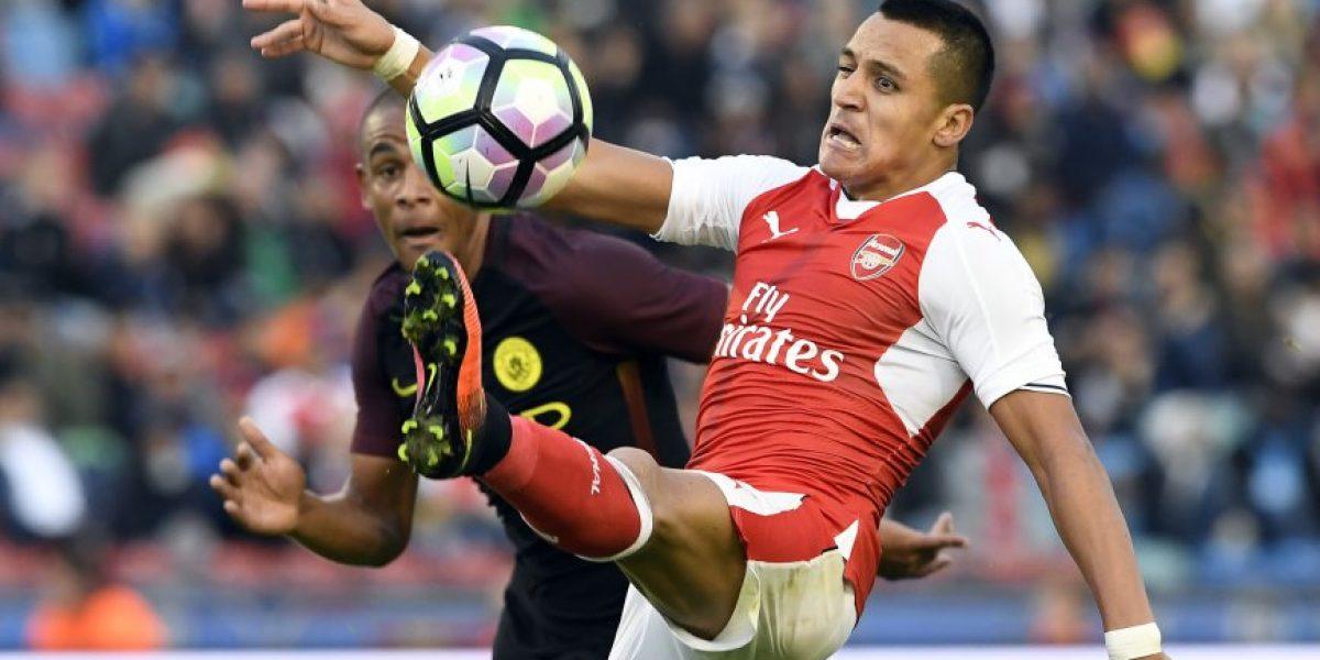 Histórico del Arsenal: Si Alexis juega de 9 no serán campeones