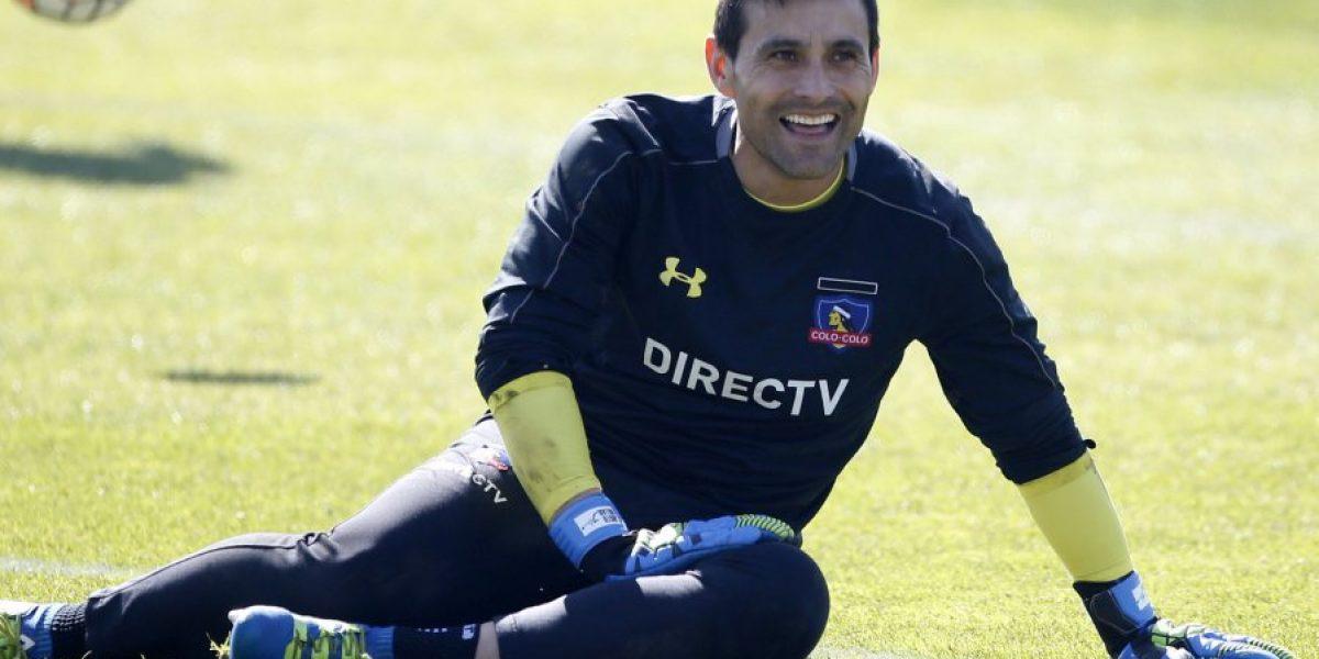 Pablo Guede se decidió por Justo Villar en el arco albo para duelo ante Temuco