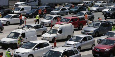120 mil vehículos ya abandonaron la capital por fin de semana largo
