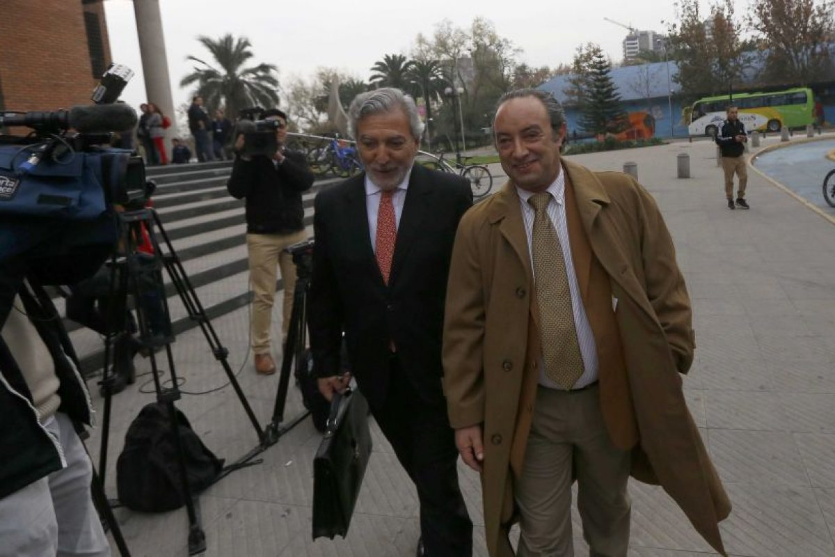 Luis Matte (a la derecha de la imagen). Foto:Archivo Agencia Uno. Imagen Por: