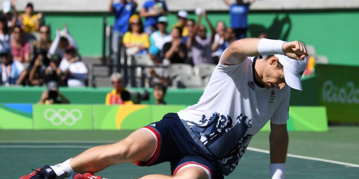 Con un increíble punto: Murray venció a Nishikori y es finalista del tenis en Río