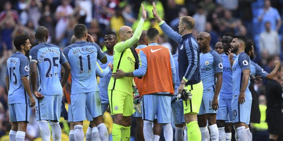 El City de Guardiola debutó con un sufrido triunfo ante el Sunderland en la Premier