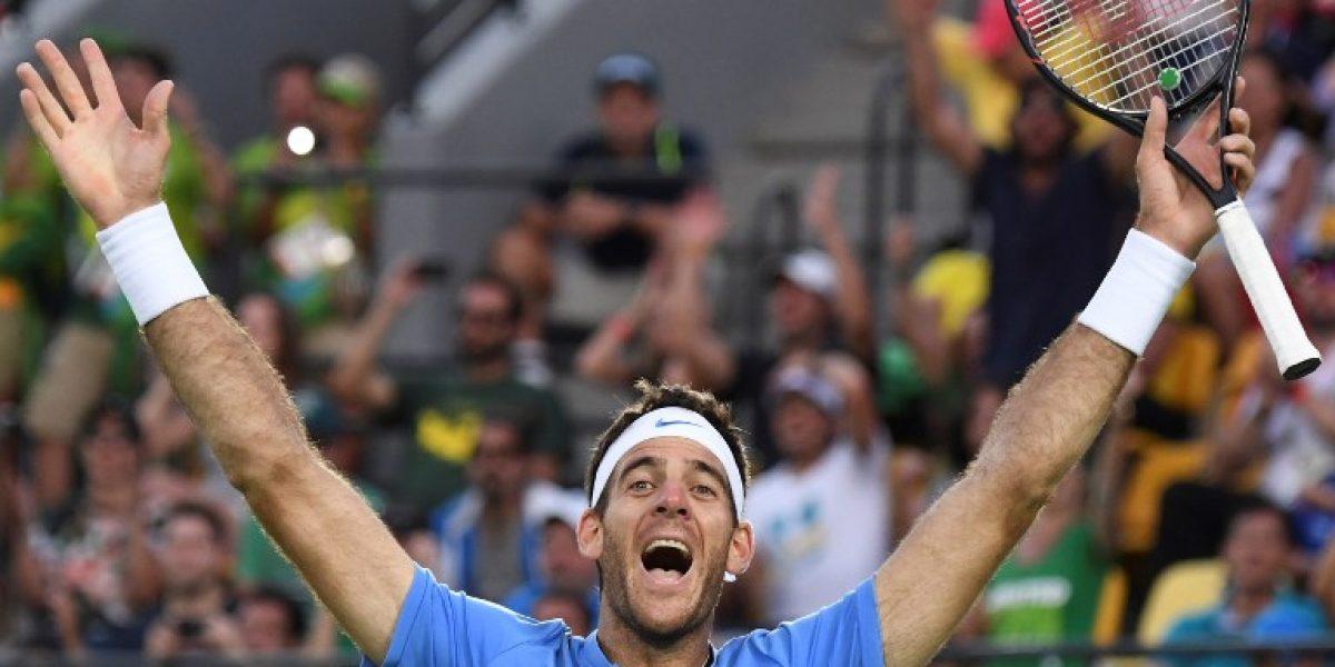 Del Potro se agiganta en Rio y accede a la final del tenis olímpico tras vencer a Nadal