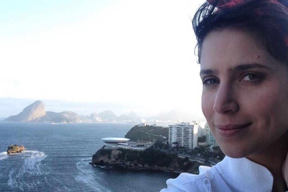 """Está casada y con dos hijos. Participó en """"La presencia de Anita"""". Foto:Instagram. Imagen Por:"""