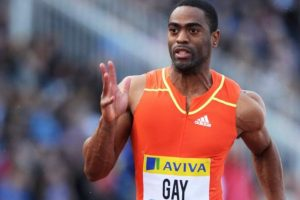 Tyson Gay – Velocista estadounidense que es un candidato para destronar a Usain Bolt. Foto:Getty Images. Imagen Por: