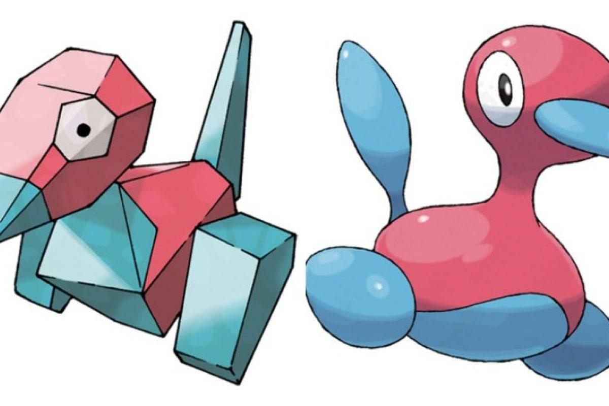 Porygon – Porygon 2. Foto:Pokémon / Nintendo. Imagen Por: