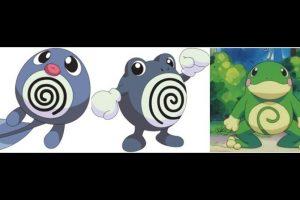 Poliwag – Poliwhirl – Politoed. Foto:Pokémon / Nintendo. Imagen Por: