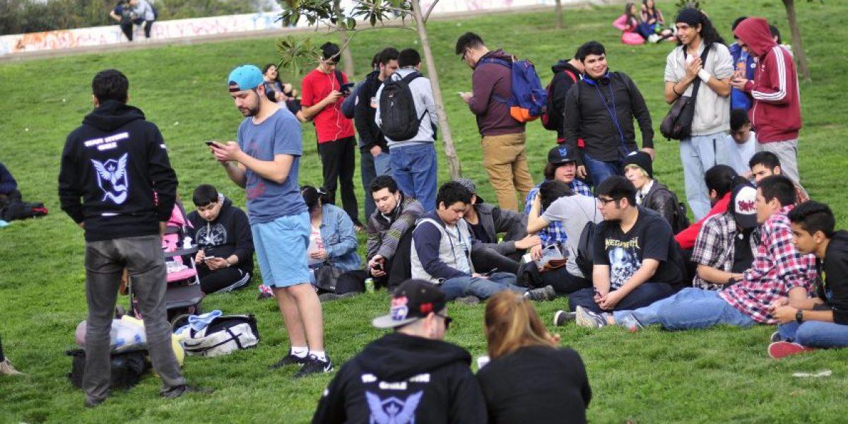 A juntarse ya: así fue reunión de los amantes de Pokémon Go en el Parque O