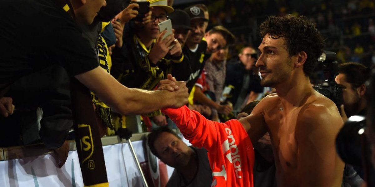 El infierno de Dortmund no perdonó a Scareface, ni a los