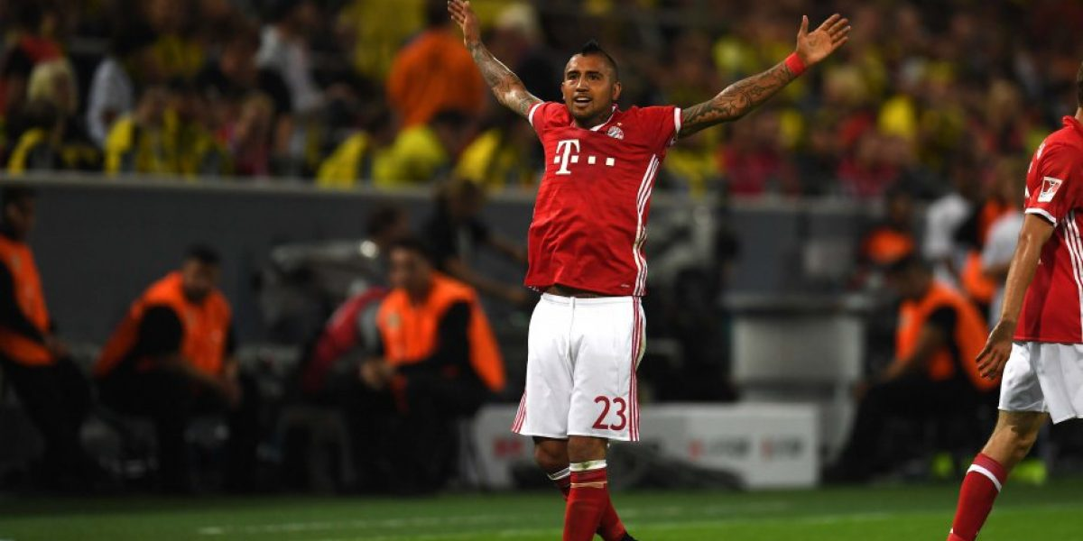Rey de Alemania: Vidal anotó y con su garra le dio la Supercopa al Bayern