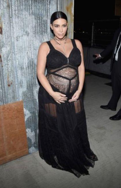 Así cambió el cuerpo de Kim Kardashian tras su segundo embarazo